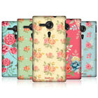HEAD CASE NOSTALGIC ROSE PATTERN HARD BACK CASE COVER FOR SONY XPERIA SP C5303
