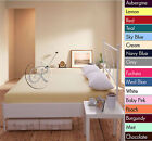 Percale Fitted Sheets Deluxe Polycotton, Single, Double, King & SK