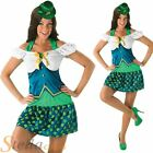 Ladies Sexy Leprechaun Irish St Patrick's Day Fancy Dress Costume Outfit + Hat