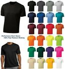 MEN'S, WICKING, RUNNING, TRACK, WORKOUT GYM T-SHIRT, TALL, LT XLT 2XLT 3XLT 4XLT