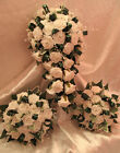 WEDDING FLOWERS WEDDING BOUQUET BRIDES BOUQUETS POSIES BUTTONHOLES WAND CORSAGE