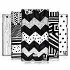 HEAD CASE DESIGNS BLACK AND WHITE DOODLE PATTERNS CASE FOR XPERIA MIRO ST23i