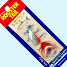 NEW Rooster Tail FLAME ORANGE Spinner Fishing Lures - Choice of Size & Quantity
