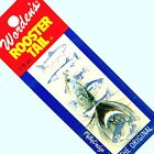 NEW Rooster Tail BLACK Body & Tail Spinner Fishing Lure - Select Size & Quantity