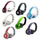 Beats by Dr Dre Solo HD On-Ear Headphone Blk Pink Grape Light Blue Green Wht Red