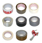 Clear Brown Masking Crossweave Gaffer Fragile Paper Tape Parcel Packing Tape
