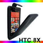 New Flip PU Leather Case Cover Pouch fits HTC Mobile Phones Choose from listing