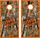 Trophy Hunter Cornhole BagToss Game Sticker Decal Set Wrap Wraps