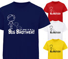 I'M GOING TO BE A BIG BROTHER! DESIGNER T-SHIRT TSHIRT KIDS CHILDRENS D2