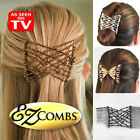 MAGIC EZ HAIR COMBS STRETCHY VARIOUS COLOURS STYLE