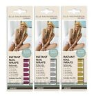 ON SALE! Elle MacPherson Instant Nail Wraps x48 Mirror Gold Silver Pink HoMedics