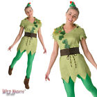 FANCY DRESS COSTUME ~ LADIES DISNEY CLASSIC PETER PAN SIZE 8-18