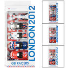 GB Racers London 2012 5 Die Cast Cars Team GB Paralympics GB Corgi Hornby Age 3+