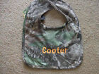 Personalized Bib Mossy Oak Realtree Camo Camouflage Baby Newborn Infant Boy Girl