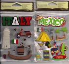 U CHOOSE  Recollections   MEXICO     ITALY   3D Stickers travel