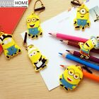Minions 3.5mm Dust-proof Ear Plug DESPICABLE ME Key Ring Iphone5s/4s Samsung HTC