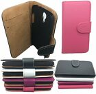 BOOK WALLET POUCH LEATHER FLIP CASE COVER FOR SAMSUNG GALAXY S3,S3 Mini S4,Mini