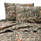 Realtree Max-4 Camo Sheets Camouflage Sheet Set ~ Twin Full Queen King Cal King