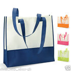 Ladies Large Beach Bag - TWO TONE SUMMER TOTE SHOPPING SHOPPER HANDBAG