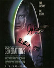 PATRICK STEWART AND WILLIAM SHATNER ( PICARD AND KIRK) SIGNED PHOTO PRINT 05