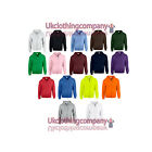 Gildan Full Zip Hooded Sweatshirt - Heavy Blend - Plain Hoodie Blank Hoody
