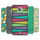 HEAD CASE DESIGNS LEAF PATTERNS 2 CASE COVER FOR SAMSUNG GALAXY S2 II I9100
