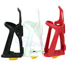 Adjustable Plastic Cycling Bicycle Mountain Bike Water Bottle Holder Rack Cage