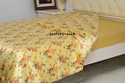 1 Pc Printed 100% Pure Silk Satin Duvet Quilt Comforter Cover All Size