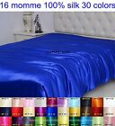 1PC 16MM 100% PURE SILK DUVET QUILT COMFORTER DOONA COVER ALL SIZE 30 COLOURS