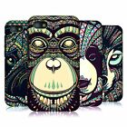 HEAD CASE AZTEC ANIMAL FACES 3 HARD BACK CASE COVER FOR BLACKBERRY Q5