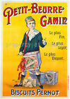 Pernot Biscuits vintage French print poster, large 4 sizes available, France 26