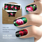 Beautiful Flowers Nail Art Nail Decals Water Transfer Stickers Decoration Hot  on Rummage