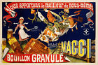 Vintage French ad print poster, large 4 sizes available -France 182