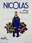 Nicolas Vintage French ad print poster, large 4 sizes available -France 187