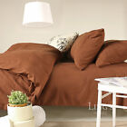 Solid Color Duvet Covers Bedding Microfiber Home Decor King/Queen/Full/Twin Size