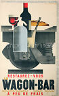 Rare vintage Railway ad print poster, 4 sizes available-Train 05