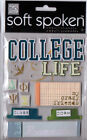 MAMBI Soft Spoken HIGH SCHOOL COLLEGE themed dimensional stickers~Awesome!!~