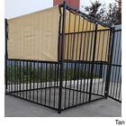 6x10,6x12,6x15 Outdoor Dog Kennel Cover Knitted Sun Shade Screen Fabric UV 88% for sale  La Puente
