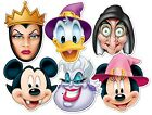 Disney Halloween Face Masks Vampire Mickey Donald Witch Queen Scarry Party Mask
