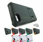 for Apple iPhone 5C TRI-Shield Rugged Dual Layer Phone Case Cover+PryTool