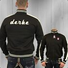 Derbe Herren Trainingsjacke Trainer brown Jacke Männer