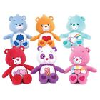 "NEW OFFICIAL 12"" G/Q CARE BEAR PLUSH SOFT TOYS 5"" GQ CARE BEAR BAG CLIPS"