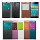 Window S-VIEW AUTO SLEEP FLIP COVER CASE FOR SAMSUNG GALAXY S5 G900A G900P G900V