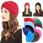 FD146 Unisex Indian Stretchable Turban Hat Headband Wrap Cap Headwrap Cloche @