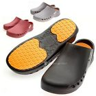 Women Chef Shoes Hole Kitchen Hospital Nonslip Safety shoes Oil, Water Safety