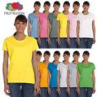 Fruit of the Loom Women's 5 oz 100% Heavy Cotton HD S-3XL T-Shirt ML3930R