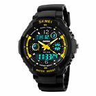 SKMEI Men's Boy Multi-Function Sports LED Analog Digital Waterproof Alarm Watch