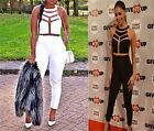 Womens New Sexy Fashion Gauze Outfits Jumpsuit&Romper Bodycon Trousers Clubwear