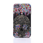 HOT! Rhinestone 3D Bling Hard Nice Diamond Crystal Case Cover for iPhone 4 4S