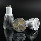 GU10 3W 5W 9W LED Spot Light Bulbs High Power Day Warm White Energy Saving Lamp